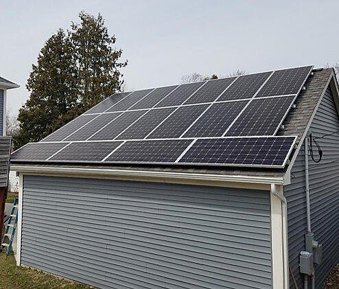 Learn more about Michigan Solar Solutions - garage