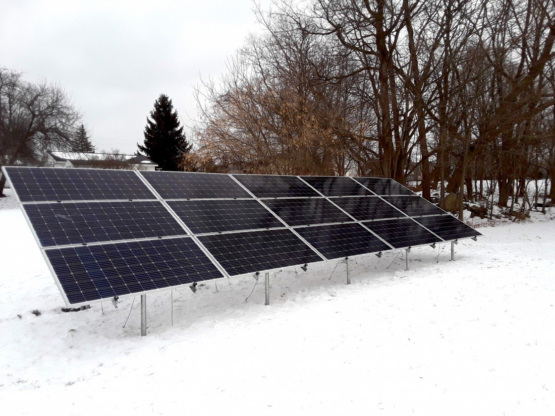 Winter Solar Production: What to Expect - Blog Michigan Solar Solutions - 20190124_145414(1)